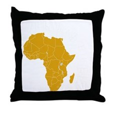rwanda1 Throw Pillow
