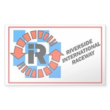 Riverside International Racew Sticker (Rectangular