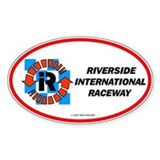 Riverside International Racew Oval Decal