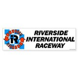 Riverside International Racew Bumper Bumper Sticker