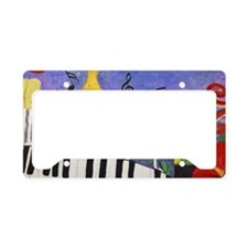Piano Bar License Plate Holder