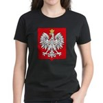 Polish Coat of Arms Women's Dark T-Shirt