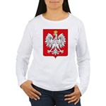 Polish Coat of Arms Women's Long Sleeve T-Shirt