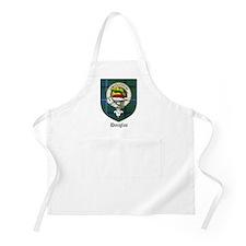 Douglas Clan Crest Tartan BBQ Apron