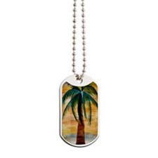 Golden Palm Dog Tags