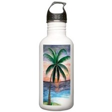 Sunset Palm Water Bottle