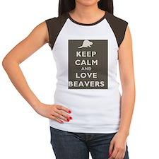 Keep_Calm_Baevers1SC.gi Tee