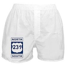 Route 231 Blue Boxer Shorts