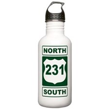 Route 231 Green Water Bottle