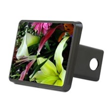 Colorful Flowers Hitch Cover
