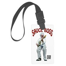 Sauce Boss Tshirt Luggage Tag