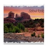 Vivid Sedona Tile Coaster