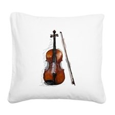 Viola06.jpg Square Canvas Pillow