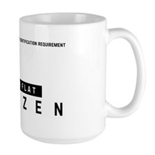 Dutch Flat, Citizen Barcode, Coffee Mug