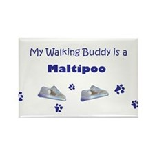 maltipoo gifts Rectangle Magnet