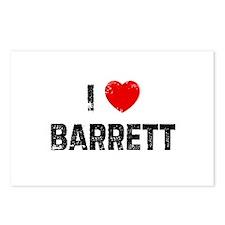 I * Barrett Postcards (Package of 8)