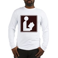 CCPoems -  Library Sign Long Sleeve T-Shirt
