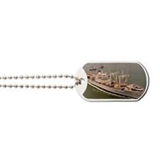 suribachi rectangle magnet Dog Tags
