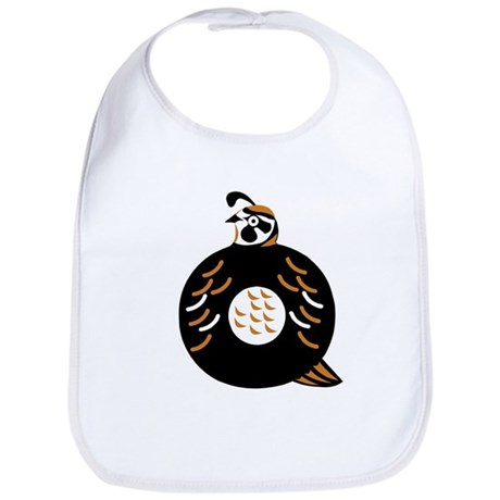 Q is for Quail Bib
