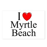 """I Love Myrtle Beach"" Postcards (Package of 8)"