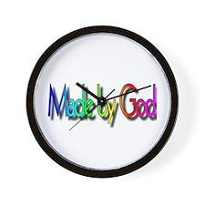Made by God Wall Clock