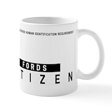 Fords, Citizen Barcode, Mug