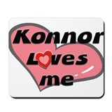konnor loves me  Mousepad