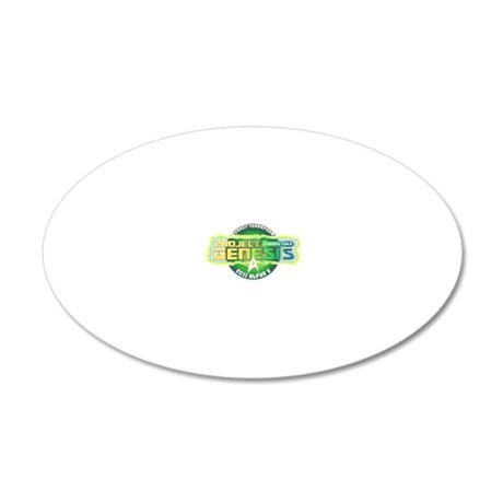 Project Genesis 20x12 Oval Wall Decal