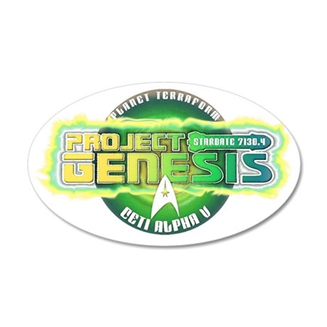 Project Genesis 35x21 Oval Wall Decal