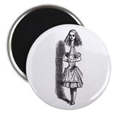 "Tall Alice 2.25"" Magnet (10 pack)"