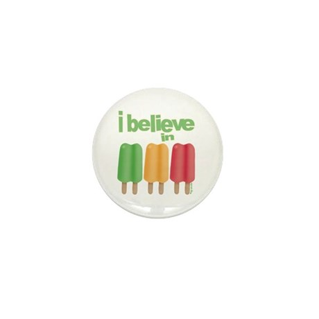 I believe in Ices! Mini Button