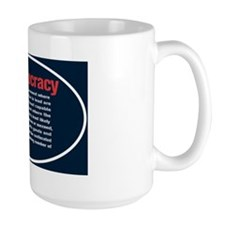 Ineptocracy2-Sticker-Oval.gif Coffee Mug
