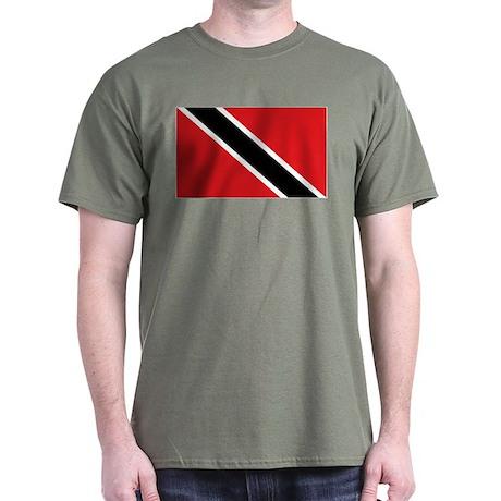 Trinidad & Tobago flag Dark T-Shirt