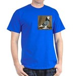 Blue Bald West Dark T-Shirt