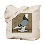 Blue Bald West Tote Bag