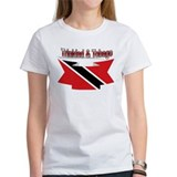Trinidad flag ribbon Tee