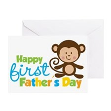 1st Father's Day Greeting Card