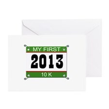 My First 10K Bib - 2013 Greeting Cards (Pk of 10)