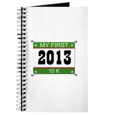 My First 10K Bib - 2013 Journal