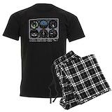 Aviation Men's Pajamas Dark