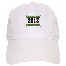 Our First 10K Bib - 2013 Baseball Cap