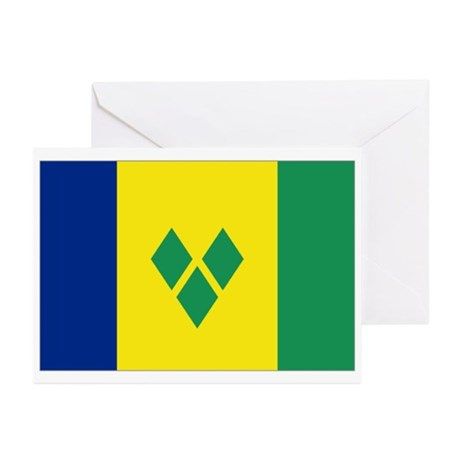 St Vincent & The Grenadi Greeting Cards (Pk of 10)