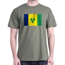 Saint Vincentian flag T-Shirt