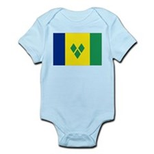 Saint Vincentian flag Infant Bodysuit