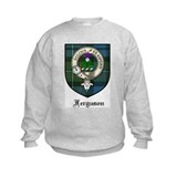 Ferguson Clan Crest Tartan Jumpers