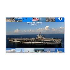 USS Carl Vinson Poster Car Magnet 20 x 12