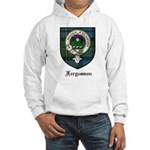 Fergusson Clan Crest Tartan Hooded Sweatshirt