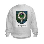 Fergusson Clan Crest Tartan Kids Sweatshirt
