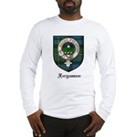 Fergusson Clan Crest Tartan Long Sleeve T-Shirt
