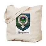 Fergusson Clan Crest Tartan Tote Bag